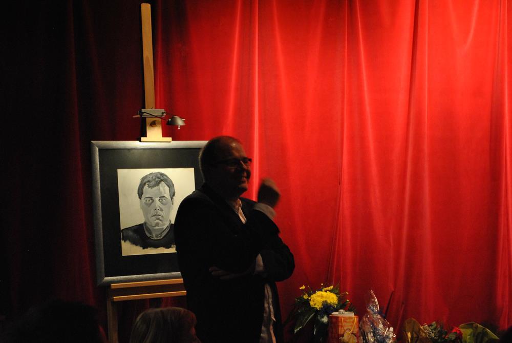 Otwarcie wystawy obrazów Piotra Scheafera